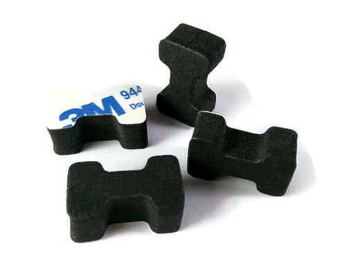 3M Self-Adhesive Dog Bone Landing Pads (4 pieces)