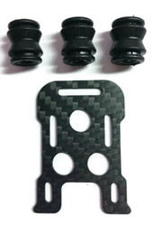 F1 Mobius Plate with 3 x OEM F1 Bobbins