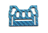 Armadillo Small Top Plate- Blue