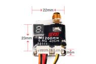 DYS MI 200mW VTX Switchable 25-200