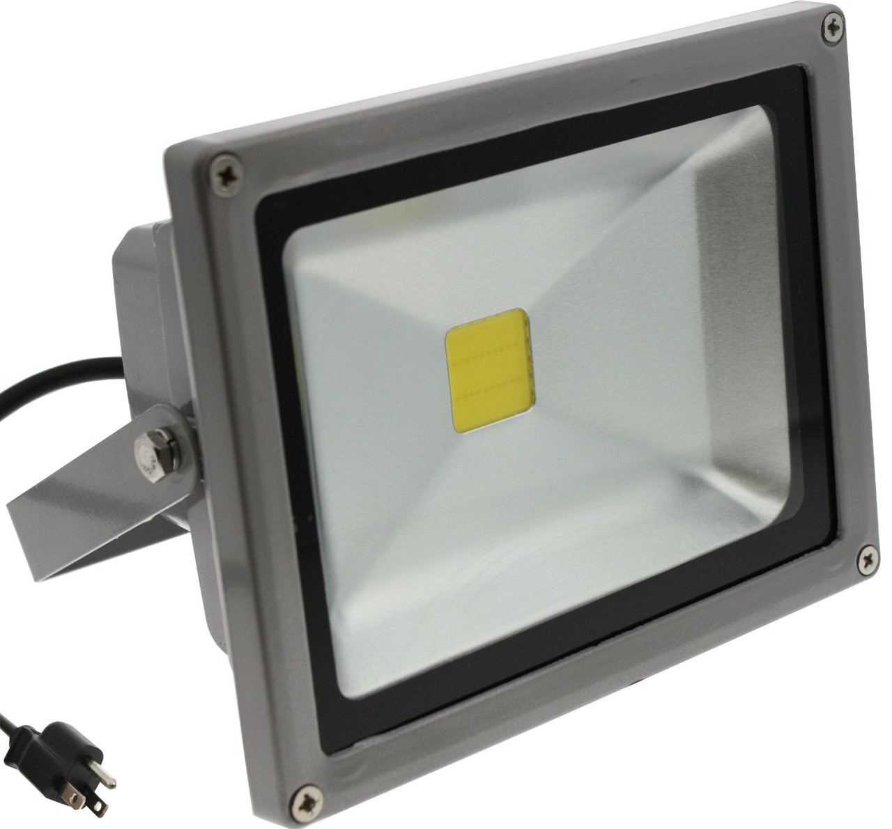 Outdoor Security Lighting 20w flood light tdltek 20w cool white led flood light spotlight image 1 workwithnaturefo