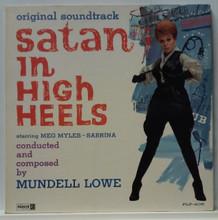 """Satan in High Heels"" Soundtrack  Mundell Lowe 1962 LP"