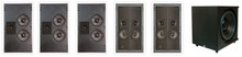 Phase Technology 5.1 Digital Audio Reference Theater System In-Wall 535 Series (dARTS)