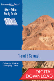 Digital Bible study guide on 1 & 2 Samuel. 13 lessons; PDF; 166 pages.