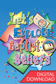Let's Explore Baptist Beliefs - Children's Guide