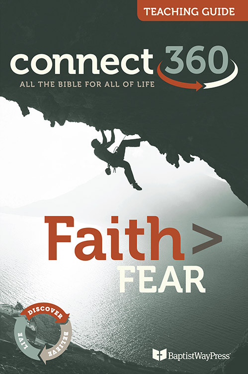 This teaching guide contains 13 lessons of Bible commentary and teaching plans to equip a teacher to led the Faith > Fear Bible study.