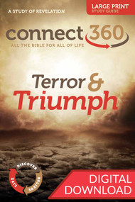 Bible study of Revelation that reminds us that God will overcome everything that threaten him and his people. 13 Lessons