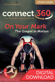 Digital Bible study of Mark with devotional commentary and questions. PDF; 149 pages.