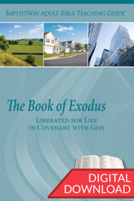 Digital teaching guide that provides Bible commentary and 2 sets of teaching plans for 14 lessons in Exodus. PDF; 186 pages.