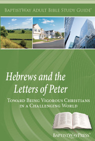 Bible study of Hebrews (7 lessons)  and 1st and 2nd Peter (6 lessons). Paperback; 149 pages.