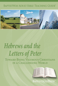 Teaching Guide contains Bible commentary on Hebrews and 1st and 2nd Peter as well as 2 sets of teaching plans. 13 lessons; Paperback; 158 pages.