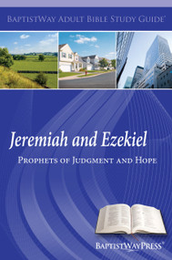 Bible study of Jeremiah (8 lessons)  and Ezekiel (5 lessons) with devotional commentary and questions. Paperback; 156 pages.