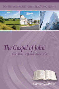 Printed copy for teachers on the Bible study of John complete with commentary and 2 teaching plans.