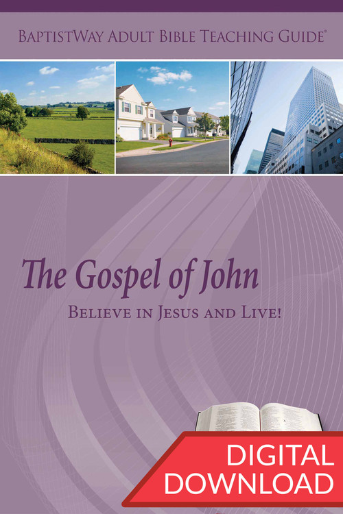 This digital resource for teachers offers Bible commentary on the Gospel of John as well as discovery and discussion plans for each of the 12 lessons. PDF; 149 pages.