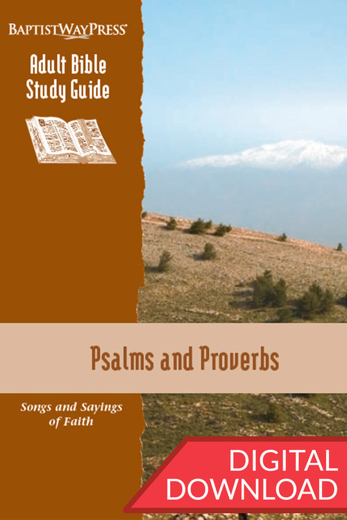 Digital Bible study on Psalms (9 lessons) and a Bible study on Proverbs (4 lessons) complete with devotional commentary and questions. PDF; 144 pages.