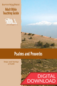 Digital teaching guide on Psalms and Proverbs. 13 lessons; PDF; 146 pages.