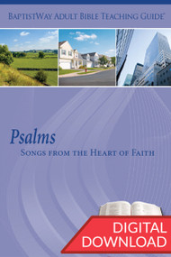Digital teaching guide of Psalms complete with commentary and 2 sets of teaching plans for 13 lessons. PDF; 168 pages.
