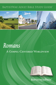 Bible study on Romans for individual, small group, or adult Sunday school that explores Paul's reasoned case for the Gospel. 13 lessons; Paperback; 135 pages.