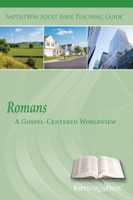 Bible commentary of Romans with 2 sets of teaching plans to lead a group or class through these 13 lessons that examine Paul's case for the gospel. Paperback; 151 pages.