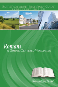 Bible study guide on Romans for individuals and adult Sunday school classes that focuses on Paul's reasoned case for Christ. 13 lessons; Paperback; 212 pages.