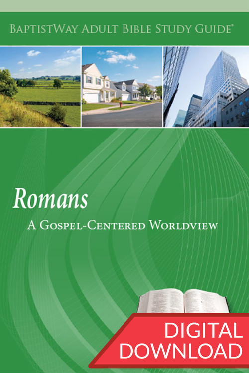 Digital study guide on Romans for small group members with devotional Bible comments and reflection questions for each of 13 lessons. PDF; 135 pages.