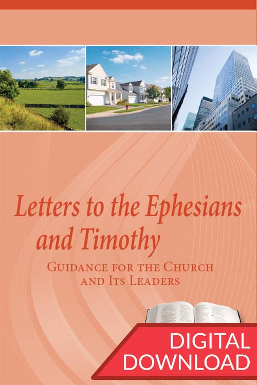 Dr. Stephen Hatfield provides detailed Bible commentary on Paul's Letters to the Ephesians and 1-2 Timothy.