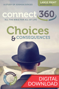 Joshua & Judges - Choices and Consequences - Digital Large Print Study Guide
