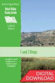 Digital Bible study on 1 & 2 Kings. 13 lessons; PDF; 254 pages.