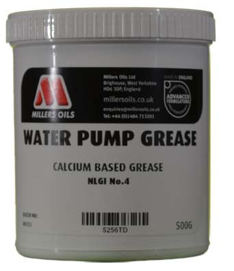 Miller's Oil Water Pump Grease (500g tub) - Part No. 5256