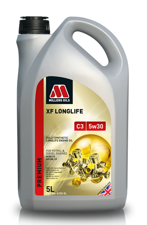 Millers Oils XF LONGLIFE C3 5w30 Fully Synthetic longlife oil