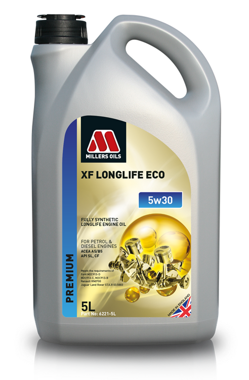 XF LONGLIFE ECO 5w30.  Millers Oils