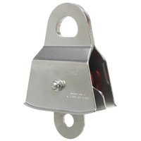 "CMI RP133NFPA 2"" Stainless Steel Prusik Double Pulley (Bushing)"