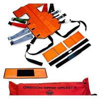 Skedco SK-300 Oregon Spine Splint II - International Orange