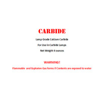 Carbide for use in Carbide Lamps (4oz)