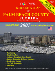 Palm Beach County, FL Street Atlas 2007