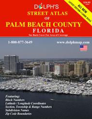 Palm Beach County, FL Street Atlas 2017