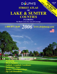 Lake & Sumter Counties, FL Street Atlas