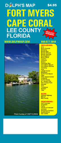 Fort Myers Map Cape Coral Map