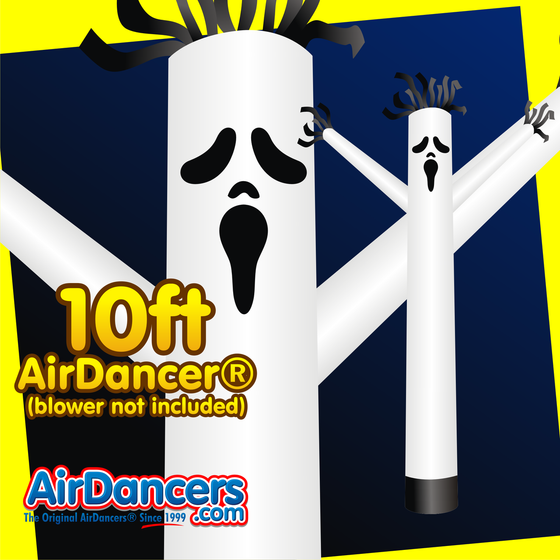 Halloween Ghost Air Dancer Attachment 10ft