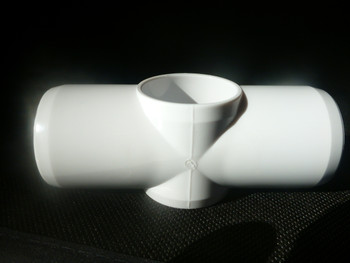 25mm PVC Slip Cross Connector