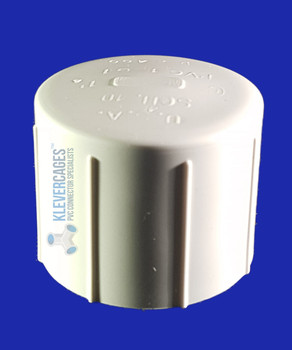 PVC 15mm cap. Fit this onto the end of your pipe. Used for dog agility weave poles and more.