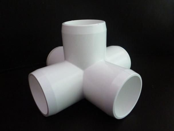 5 Way Cross PVC Connector - 25mm