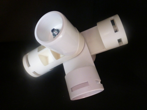 25mm PVC 5Way Bendable Connector