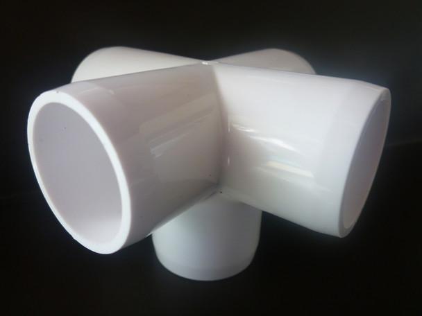 5 Way Cross PVC Connector - 20mm