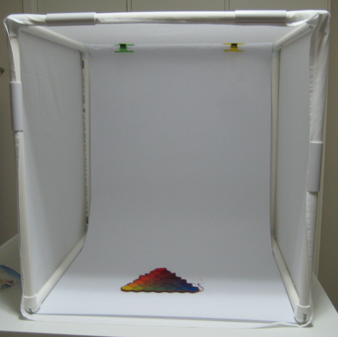Photography Light Box made from PVC connectors and pipe