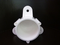 Screw Tab Cap PVC Connector suitable for frames and cages around the home and garden