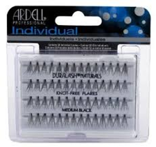 Ardell Individual Lashes (Knot-Free Flare) Medium Brown