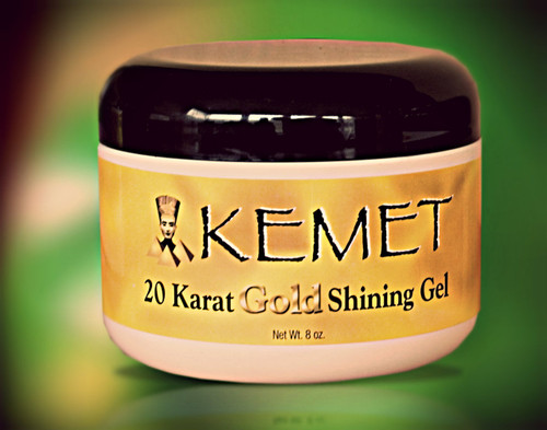 Kemet 20 Karat Gold Shining Gel 8oz.