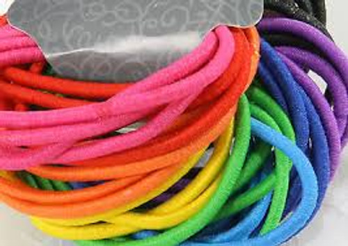 Ponytail Holders Rainbow Color