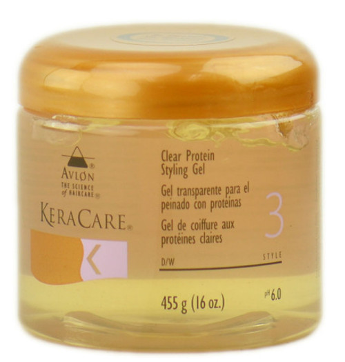 KeraCare Clear Protein Gel 16oz.